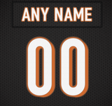 Cincinnati Bengals Jersey Poster - Print Personalized Select ANY Name & ANY Number - PixArtsy - 6