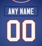 Buffalo Bills Jersey Poster - Print Personalized Select ANY Name & ANY Number - PixArtsy - 6