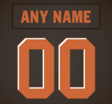 Cleveland Browns Jersey Poster - Print Personalized Select ANY Name & ANY Number - PixArtsy - 6