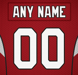Arizona Cardinals Jersey Poster - Print Personalized Select ANY Name & ANY Number - PixArtsy - 6
