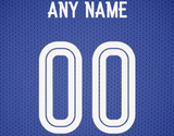 Chelsea Football Soccer Jersey Poster - Print Personalized Select ANY Name & ANY Number - PixArtsy - 6