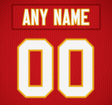 Kansas City Chiefs Jersey Poster - Print Personalized Select ANY Name & ANY Number - PixArtsy - 6