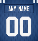Indianapolis Colts Jersey Poster - Print Personalized Select ANY Name & ANY Number - PixArtsy
