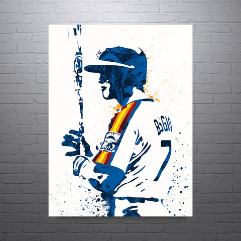 Craig Biggio Houston Astros Poster - PixArtsy