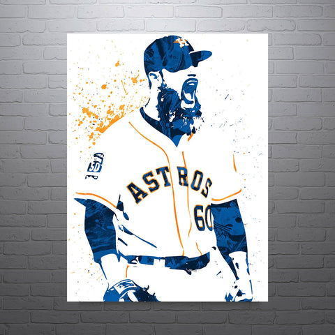 Dallas Keuchel Houston Astros Poster - PixArtsy - 1