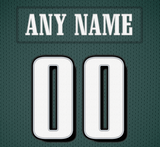 Philadelphia Eagles Jersey Poster - Print Personalized Select ANY Name & ANY Number - PixArtsy - 6