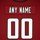 Atlanta Falcons Jersey Poster - Print Personalized Select ANY Name & ANY Number - PixArtsy