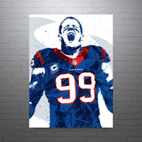JJ Watt Houston Texans Poster - PixArtsy - 1