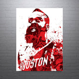 James Harden Houston Rockets Poster - PixArtsy