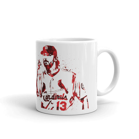 Matt Carpenter St Louis Cardinals Mug - PixArtsy