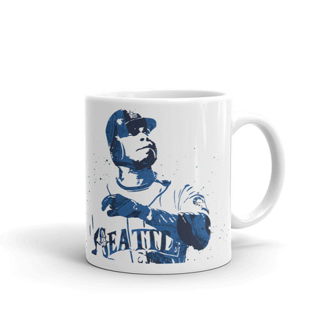Ken Griffey Jr Seattle Mariners Mug - PixArtsy - 1