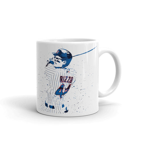 Anthony Rizzo Chicago Cubs Mug - PixArtsy