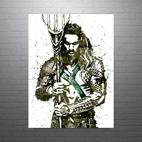 Batman v Superman Aquaman Poster - PixArtsy