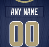 Los Angeles Rams Jersey Poster - Print Personalized Select ANY Name & ANY Number - PixArtsy