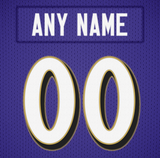 Baltimore Ravens Jersey Poster - Print Personalized Select ANY Name & ANY Number - PixArtsy - 6