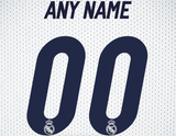 Real Madrid Soccer Jersey Poster - Print Personalized Select ANY Name & ANY Number - PixArtsy - 6