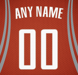 Houston Rockets Jersey Poster - Print Personalized Select ANY Name & ANY Number - PixArtsy - 5