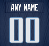 Tennessee Titans Jersey Poster - Print Personalized Select ANY Name & ANY Number - PixArtsy - 6