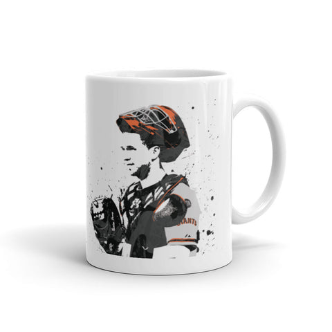 Buster Posey San Francisco Giants Mug - PixArtsy