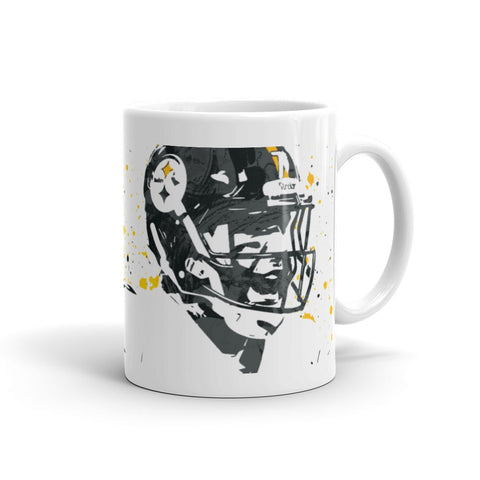 Ben Roethlisberger Pittsburgh Steelers Mug - PixArtsy - 1