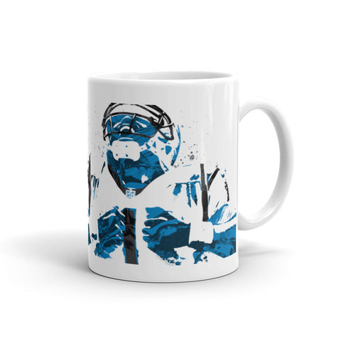 Cam Newton Carolina Panthers Mug - PixArtsy - 1