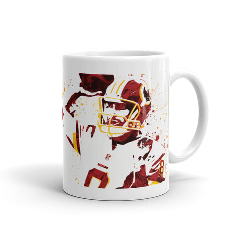 Kirk Cousins Washington Redskins Mug - PixArtsy - 1