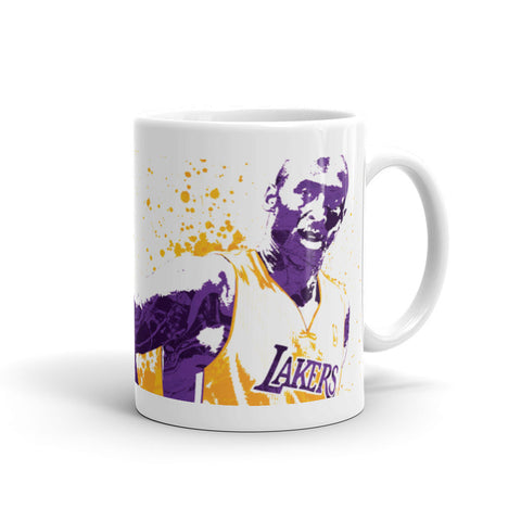 Kobe Bryant Los Angeles Lakers Mug - PixArtsy