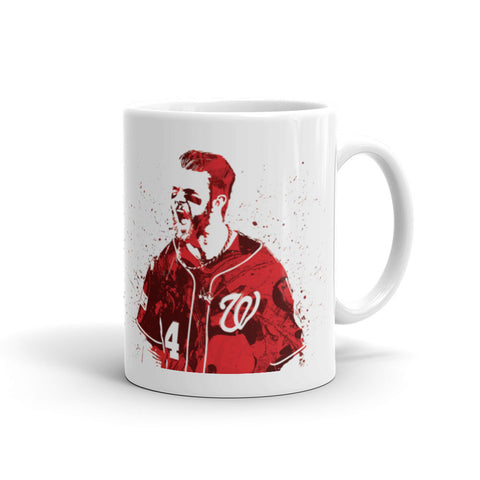 Bryce Harper Washington Nationals Mug - PixArtsy