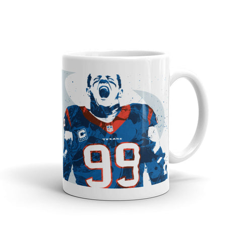 JJ Watt Houston Texans Mug - PixArtsy - 1
