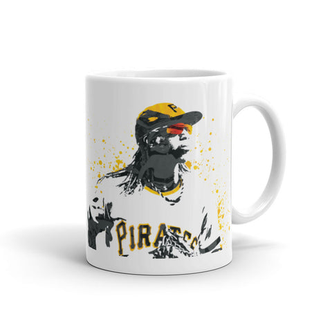 Andrew McCutchen Pittsburgh Pirates Mug - PixArtsy