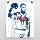 Chipper Jones Atlanta Braves Poster - PixArtsy