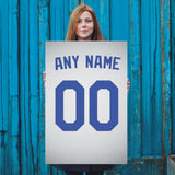 Los Angeles Dodgers White Jersey Poster - Print Personalized Select ANY Name & ANY Number - PixArtsy