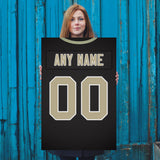 New Orleans Saints Jersey Poster - Print Personalized Select ANY Name & ANY Number - PixArtsy