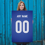 Chelsea Football Soccer Jersey Poster - Print Personalized Select ANY Name & ANY Number - PixArtsy - 5