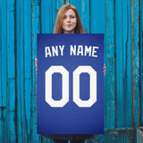 Los Angeles Dodgers Jersey Poster - Print Personalized Select ANY Name & ANY Number - PixArtsy