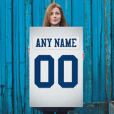 Dallas Cowboys White Jersey Poster - Print Personalized Select ANY Name & ANY Number - PixArtsy - 5
