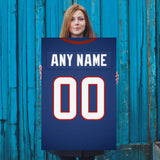 Houston Texans Jersey Poster - Print Personalized Select ANY Name & ANY Number - PixArtsy