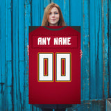 Tampa Bay Bucs Jersey Poster - Print Personalized Select ANY Name & ANY Number - PixArtsy - 5
