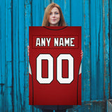 Arizona Cardinals Jersey Poster - Print Personalized Select ANY Name & ANY Number - PixArtsy - 5