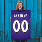 Baltimore Ravens Jersey Poster - Print Personalized Select ANY Name & ANY Number - PixArtsy - 5