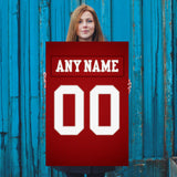 San Francisco 49ers Jersey Poster - Print Personalized Select ANY Name & ANY Number - PixArtsy - 5