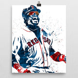 David Ortiz Boston Red Sox Poster - PixArtsy