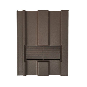 Beddoes Products Inline Marley Ludlow Major Vent Tile Brown - Sanded