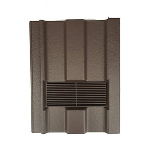 Beddoes Products Inline Marley Ludlow Major Vent Tile Brown - Smooth