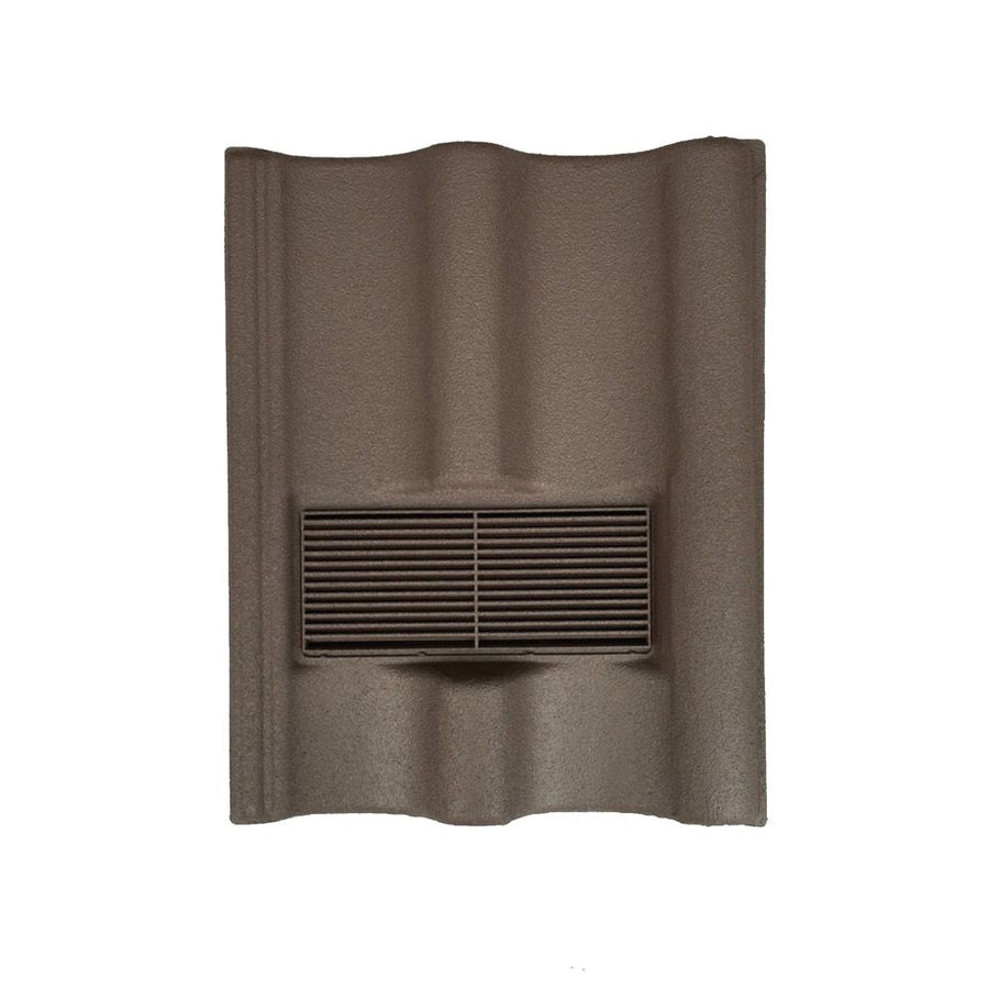Beddoes Products Inline Marley Mendip Vent Tile Brown - Sanded