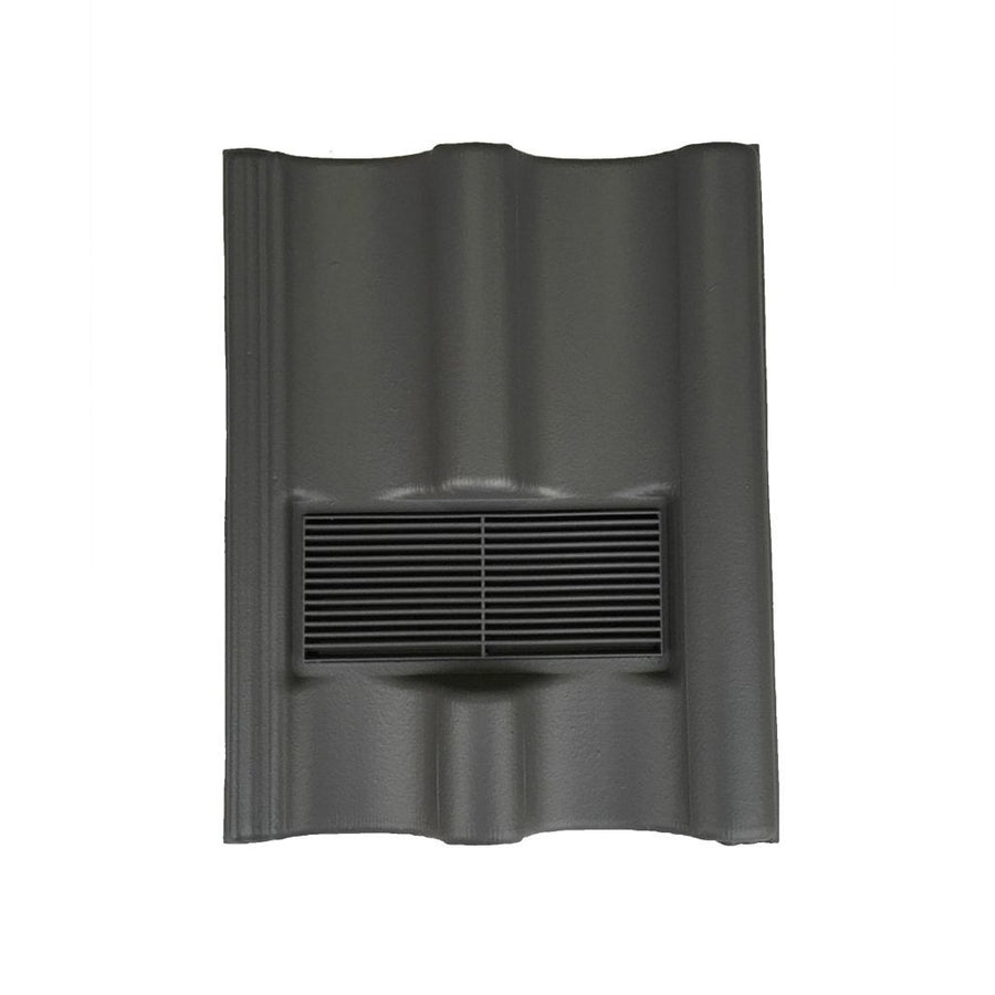 Beddoes Products Inline Marley Mendip Vent Tile Grey - Smooth