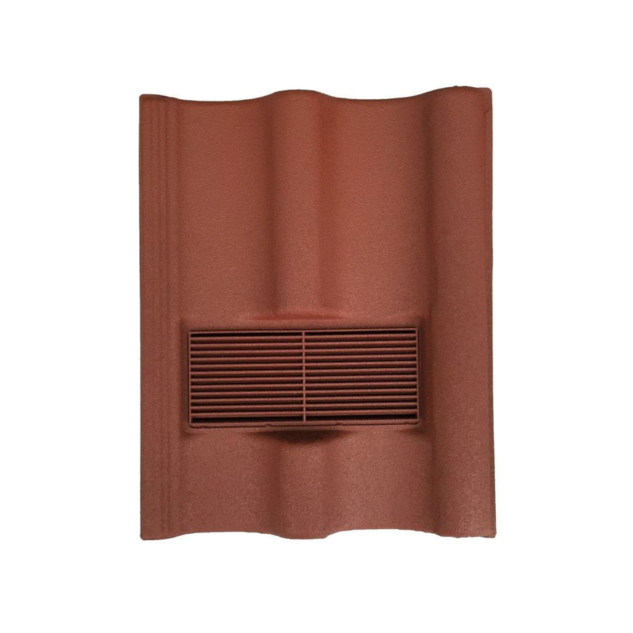 Beddoes Products Inline Marley Mendip Vent Tile Red - Sanded