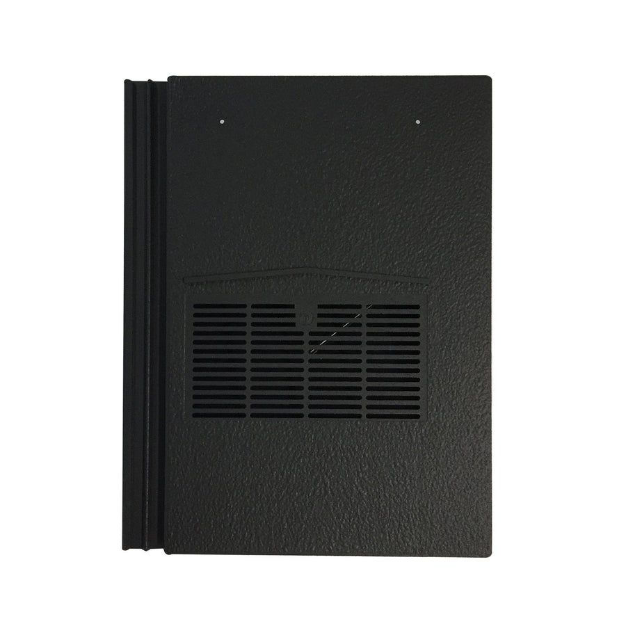 Beddoes Products Inline Marley Modern Vent Tile Charcoal Black Sanded