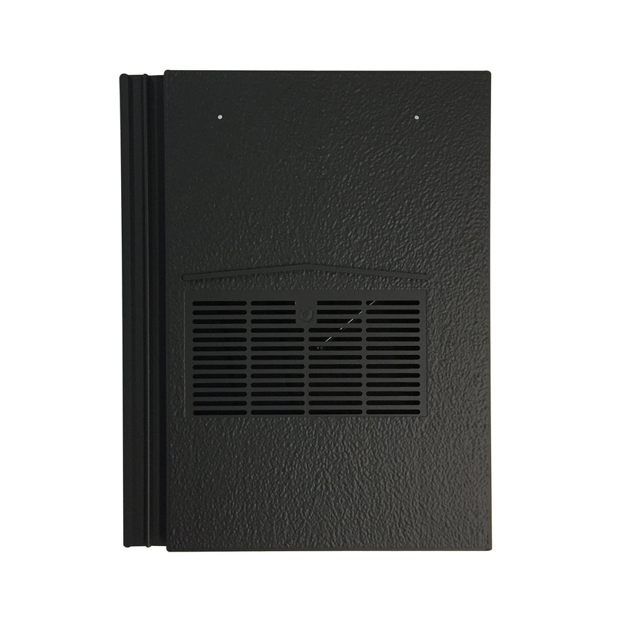 Beddoes Products Inline Marley Modern Vent Tile Charcoal Black Smooth
