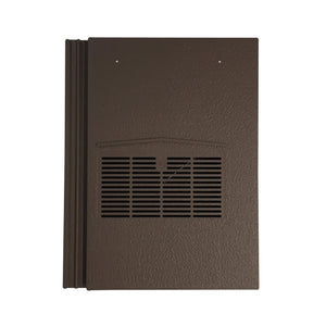 Beddoes Products Inline Marley Modern Vent Tile Brown Smooth